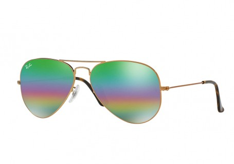 Ray Ban Aviator Green RB3025